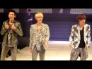 130406 Chanyeol & Sehun & Kai (EXO-K) Runway - Seoul Girls Collection [ smile xiumin ]